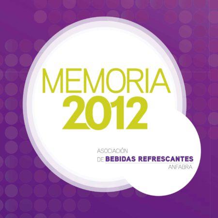 Memoria Anfabra 2012