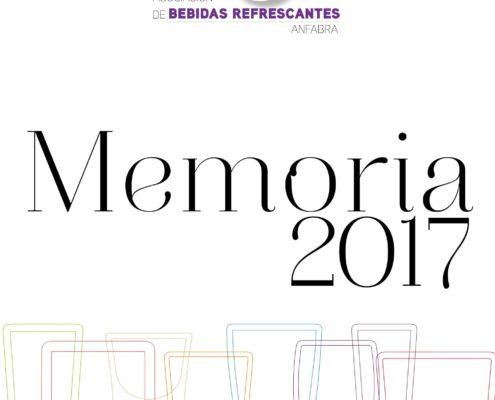 Memoria 2017 de Asociación de Bebidas Refrescantes Anfabra